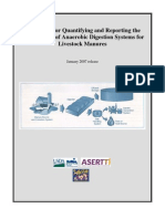 A Protocol for Quantifying and Reporting the Performance of Anaerobic Digestion Systems for Livestock Manures