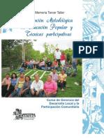Concepción Metodológica de Educación Popular y técnicas paticipativas