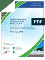 SGIP Handbook 2013