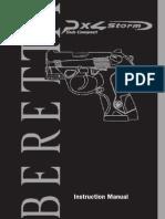Beretta PX4 Storm Subcompact User Manual