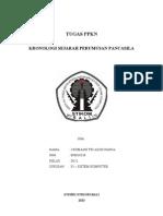 Tugas Pkn - Kronologi Pancasila