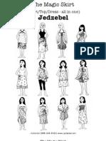 Magic Skirt How to Jedzebel