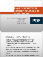 EFFECTS OF CONCRETE ON TOUCH AND STEP VOLTAGES.ppt
