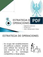Estrategia de Operaciones- Javier Amaya- Produccion i
