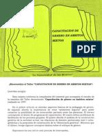 Capacitacion de Genero en Ambitos Mixtos - _La Universidad de La Mujer