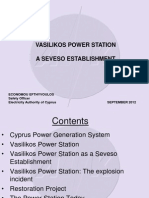 Vasilikos Power Station - A Seveso Establishement