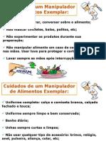 Cartaz Cuidados Do Manipulador de Alimentos