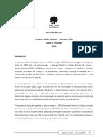 2008 Relatório Técnico Projeto Ação Curvelo (JUN-SET-2008)