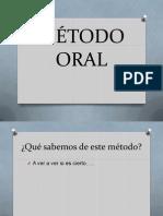 4. MÉTODO ORAL