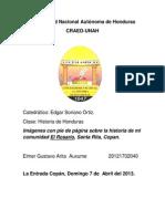 Imagenes Historicas de La Aldea El Rosario SRC.