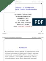 Introduccion a La Optimizacion Multiobjetivo P1