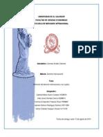 Definición del derecho internacional y sus sujetos