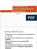 Cuestionario de Preferencias Personales de Edwards