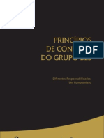 Principios de Conduta Do Grupo BES - Desconhecido