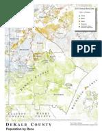 DeKalb County - Population by Race