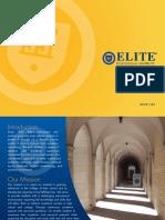 Elite 2012 Brochure