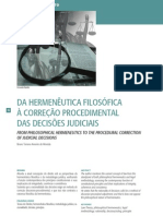 DA HERMENÊUTICA FILOSÓFICA