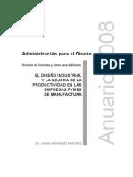 Rodriguez-2008_EL DISEÑO INDUSTRIAL Y LA  MEJORA DE LA PRODUCTIVIDAD