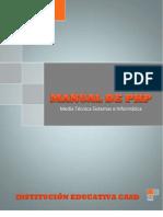 Manual de PHP-2012