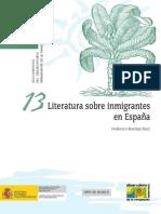 LITERATURA SOBRE INMIGRANTES EN ESPAÑA