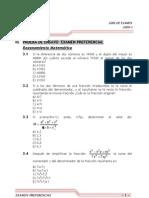 Temario de Examen Preferencial-2009-i