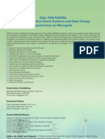 Call for Papers_Special Issue on Microgrids