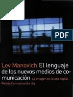 El lenguaje de los nuevos medios de comunicación, Lev Manovich