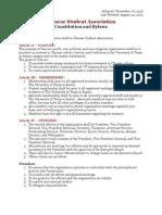 CSA Constitution
