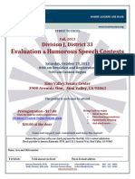 Division J Fall Contest 2013 Flyer