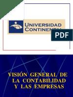 Semana 01 - Visión General de la Contabilidad y las Empresas