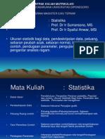 Kuliah STATISTIKA