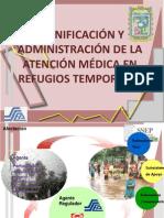 ATENCIÓN MÉDICA EN REFUGIOS TEMPORALES