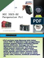 DEE 3323.02 Pengenalan PLC