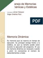 Manejo de Memoria Dinámicas y Estáticas