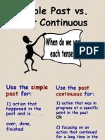 Simple Past vs Past Progressive or Continuous