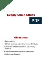 Ethics in SCM