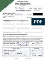 Schuster Occupancy Permit