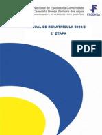 Manual Rematricula
