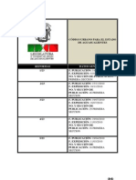 Código Urbano para el Estado de Aguascalientes