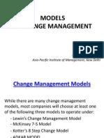 Models for Change