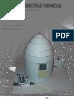 Jules Verne Lunar Projectile Vehicle Paper Model by Rocketmantan-d6dc7g5