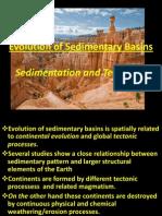 Evolution of Sedimentary Basins