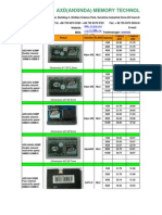 From AXD DOM&SSD Price List110907