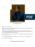 TRANSCRIPTS Katherine Jackson V AEG Live August 28th 2013. Dr Cherilyn Lee.