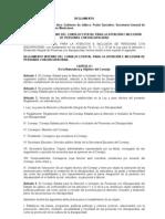 Reglamento Interno del Consejo Estatal para la Atención e Inclusion de Personas con Discapacidad
