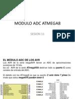 Modulo Adc Atmega8