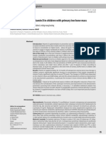 Clinical Efficay of Vitamin d in Children With Primary Low Bone Mass