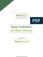 value indicator - uk main market 20130904