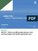 Topic 26 - Hedging Strategies Using Futures