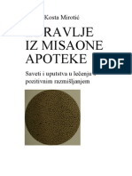 Kosta Mirotic - Zdravlje Iz Misaone Apoteke